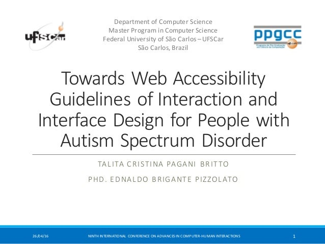 Towards  Web  Accessibility   Guidelines  of  Interaction  and   Interface  Design  for  People  wit...