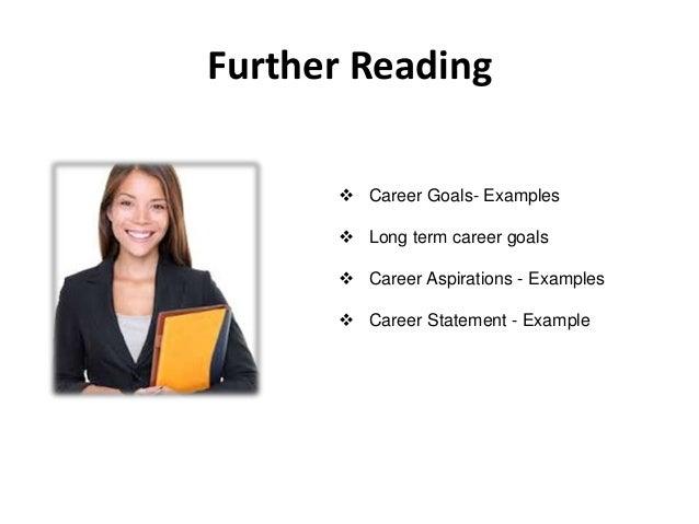 Achieve career goals