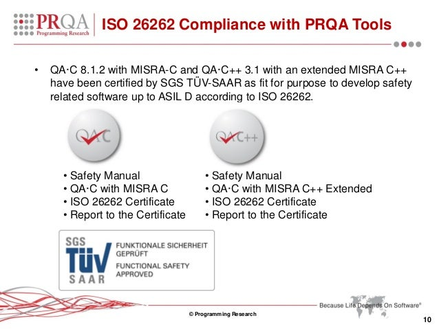 Achieve iso 26262 certification