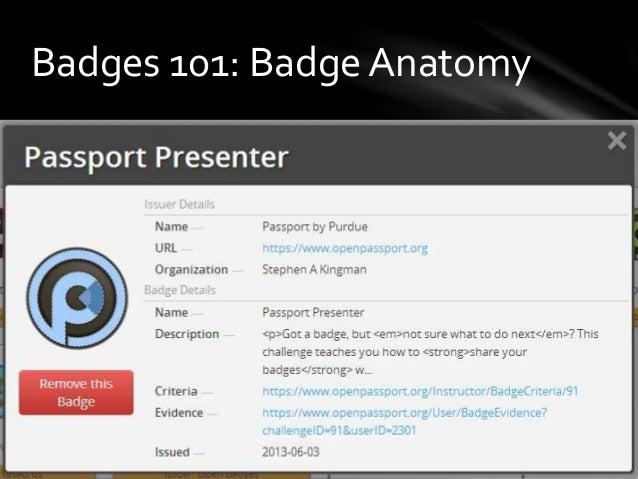 Badges 101: Badge Anatomy