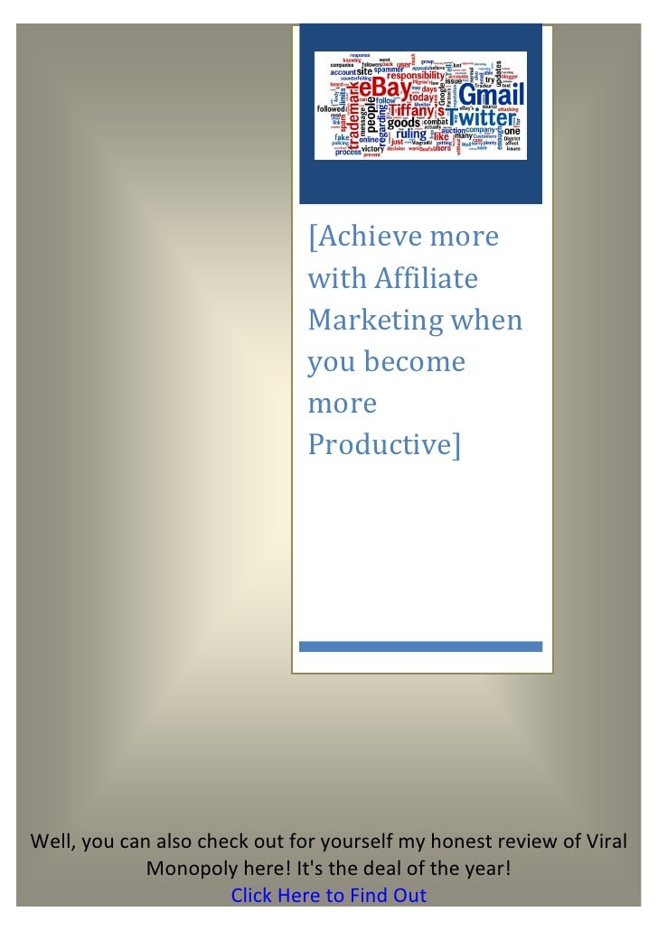 [Achieve more                               with Affiliate                               Marketing when                   ...