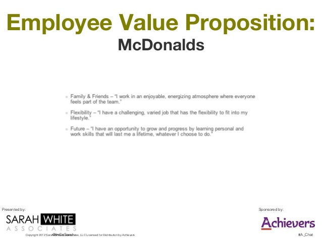 value proposition of mcdonalds 10 steps to making your franchise the next mcdonald's how to  and that  means building a strong value proposition into the offering larger.