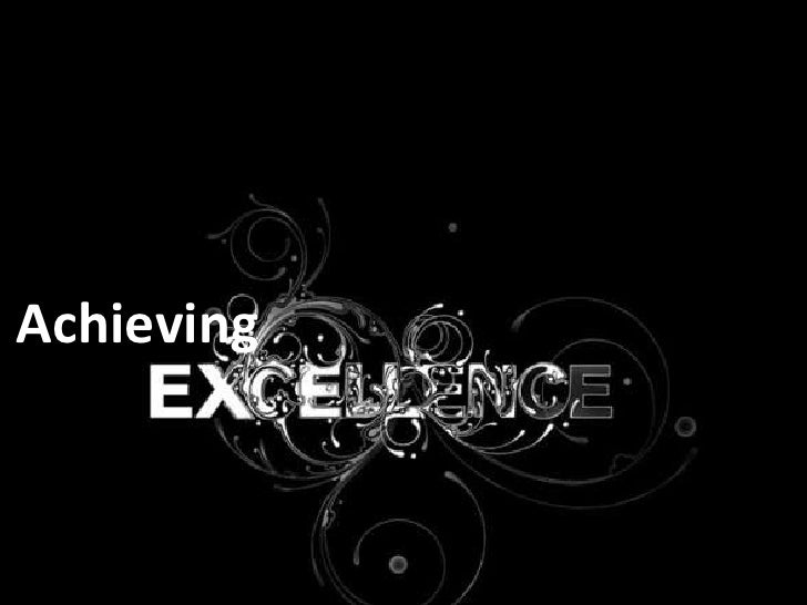 Achieving<br />