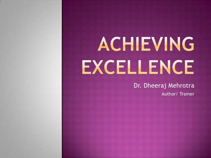 Dr. Dheeraj Mehrotra         Author/ Trainer