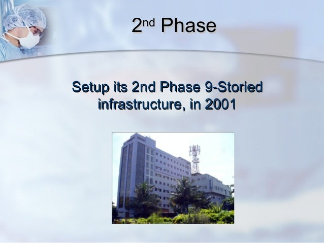 Achieving excellence in a charitable hospital Slide 3
