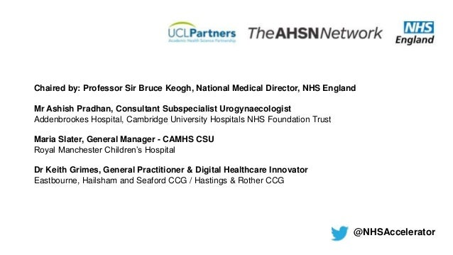 Achieving Innovation At Scale In The Nhs