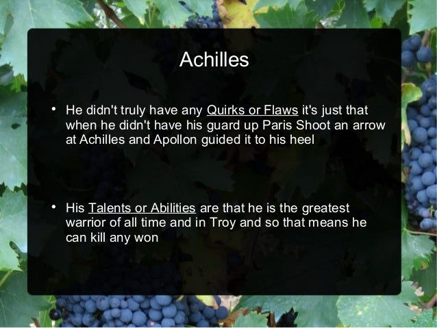 achilles the greatest warrior of the Define achilles: the greatest warrior among the greeks at troy and slayer of hector achilles tendon.