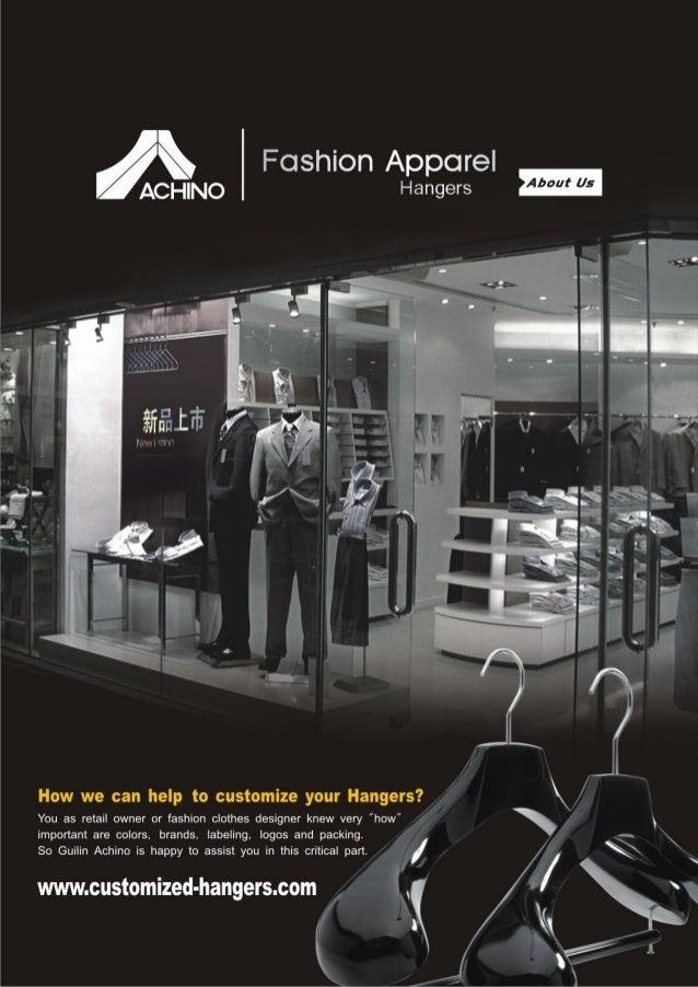 Achino fashion apparel hangers
