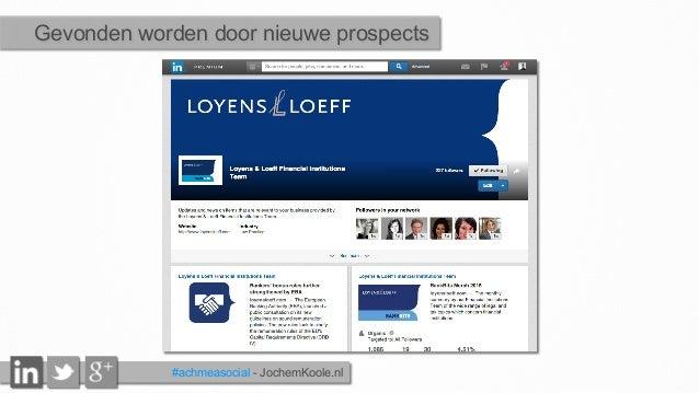 Gevonden worden door nieuwe prospects #achmeasocial - JochemKoole.nl