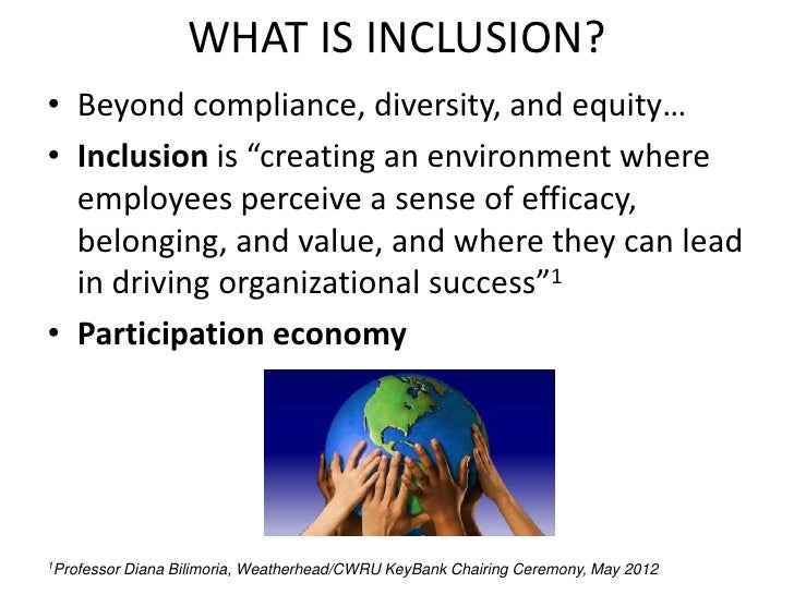 explain what is meant by diversity inclusion participation Best answer: diversity refers to the fact that we are all different some of us are male, some female, some tall, some short, some dark skinned, some light skinned we come from different cultural backgrounds, different faiths, and different family groupings.