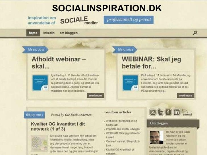 Dato:  onsdag 23. februar 2011 Jernaldervej 332, 8210 Århus,  +45 2084 9488, oba@newsperience.com, www.newsperience.com Si...