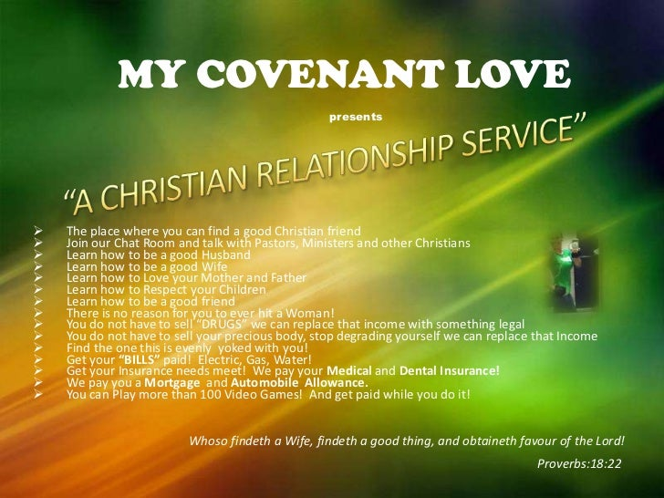 covenant relationship In this way, god made covenant with noah, abraham, and eventually all of israel at mt sinai god continues this covenant relationship through jesus christ.
