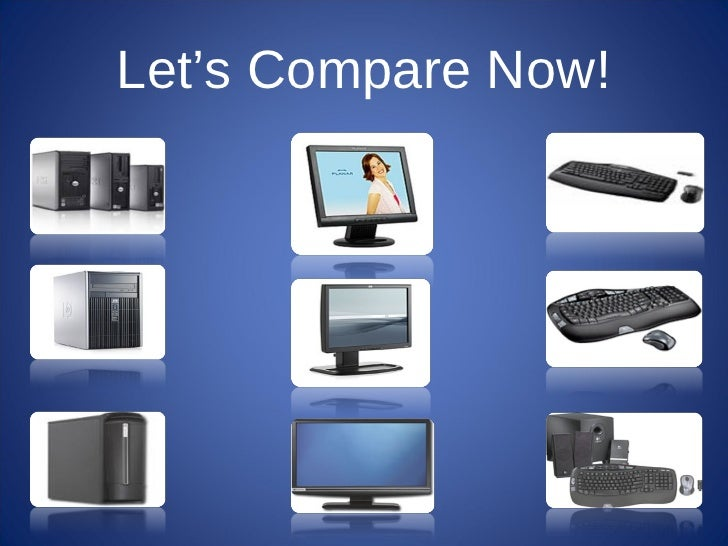Let's Compare Now!