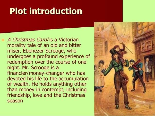 a christmas carol charles dickens plot