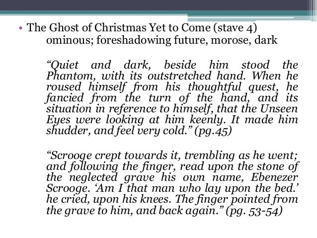 the ghost of christmas essay How is scrooge presented in a christmas carol  essay a christmas carol ghost in a christmas carol contributes to the final redemption of his journey to becoming a.