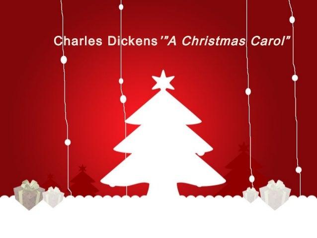 A Christmas Carol Literary Elements