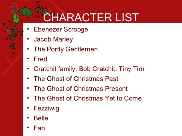 the four main characters in the book ebenezer scrooge Everything you ever wanted to know about ebenezer scrooge in a christmas carol ebenezer scrooge characters / anything jump out at you as the major.