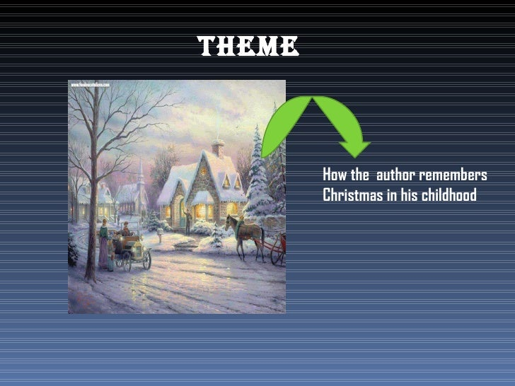 how the author remembers christmas in his childhood - A Christmas Memory Full Text