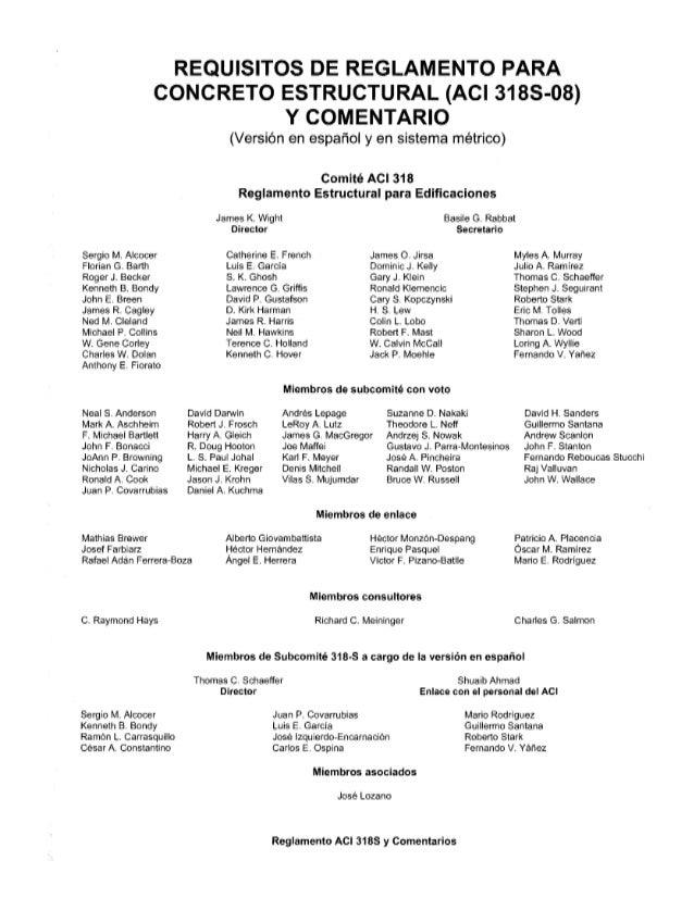 Aci 318-08 (spanish)