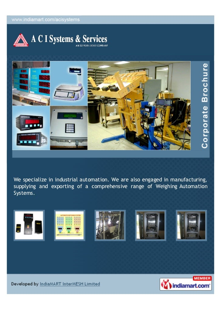 We specialize in industrial automation. We are also engaged in manufacturing,supplying and exporting of a comprehensive ra...