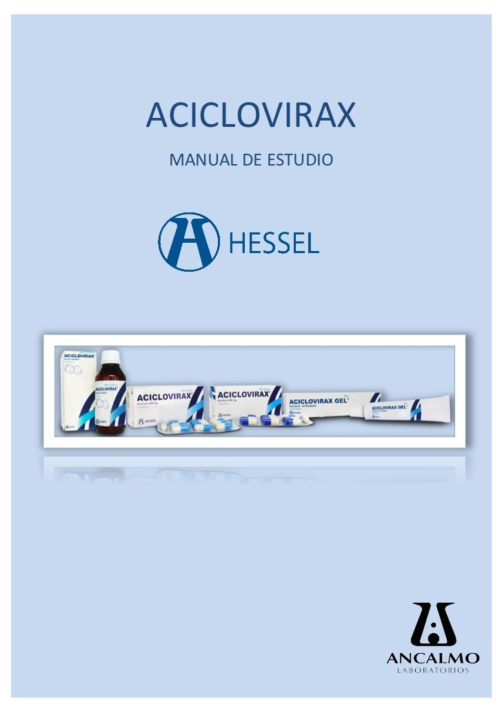 ACICLOVIRAX	   MANUAL	  DE	  ESTUDIO