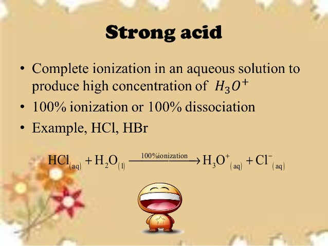 how to know if acid base equilibrium