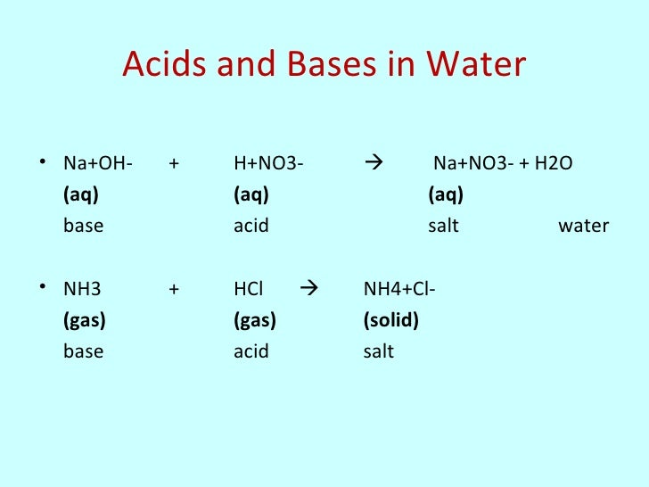acids bases and salts research paper 3 conjugate acids and bases 4 strong and weak acids/bases 5 properties of acids and bases 51 indicators for instance, mixing hydrochloric acid (hcl) with sodium hydroxide (naoh) results in a neutral solution containing table salt ( nacl) litmus paper turns red in acidic conditions and blue in basic conditions.