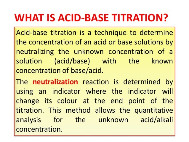 neutralization titrations the determination of soda Experiment 5 acid-base neutralization and titration part a determination of the molarity of the experiment 5 acid-base neutralization and titration.