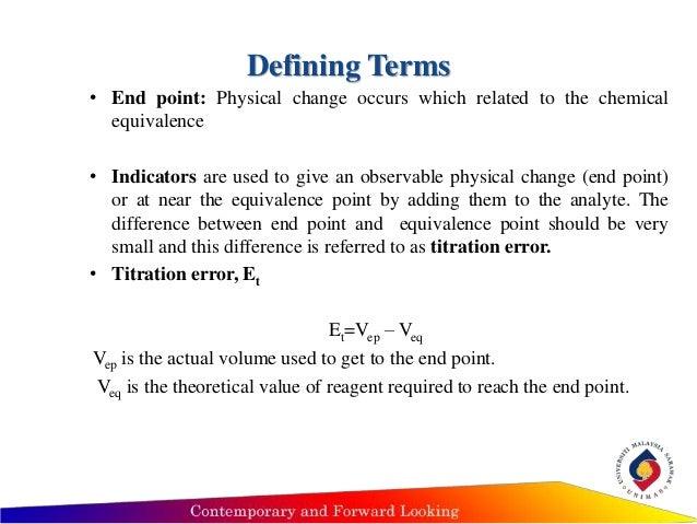 half equivalence point