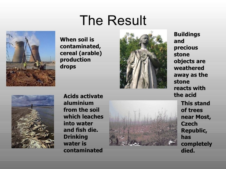 effects of acid rain on historical monuments