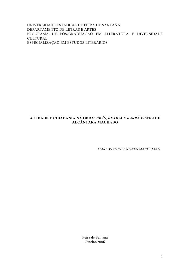 UNIVERSIDADE ESTADUAL DE FEIRA DE SANTANA DEPARTAMENTO DE LETRAS E ARTES PROGRAMA DE PÓS-GRADUAÇÃO EM LITERATURA E DIVERSI...