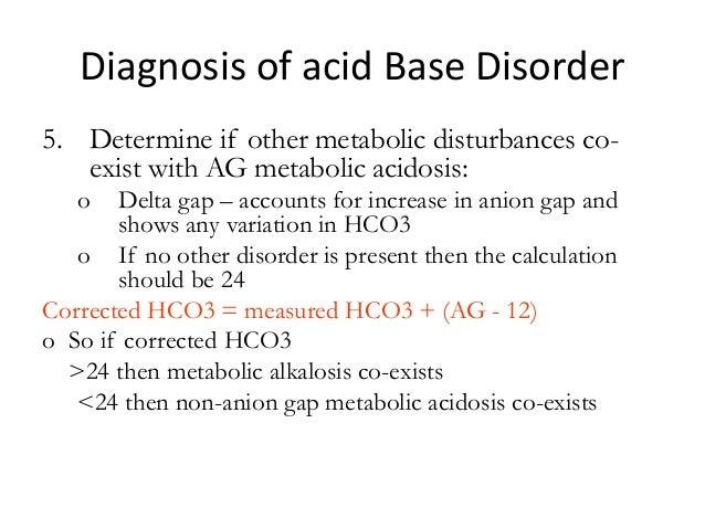 how to determine metabolic acidosis