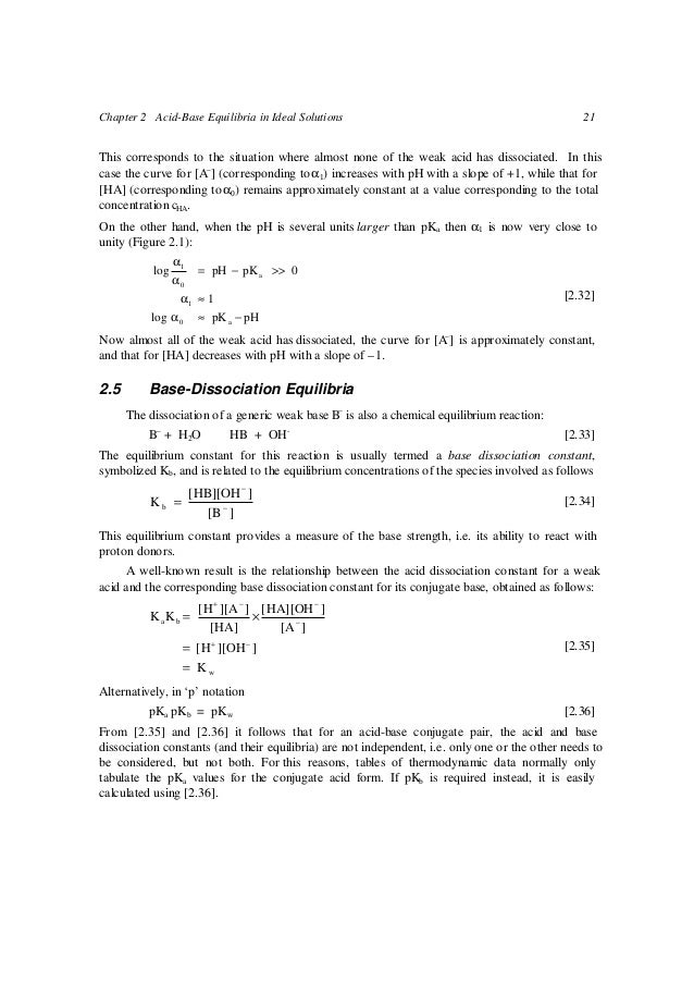 Acidbasebook – Acid Base Equilibrium Worksheet