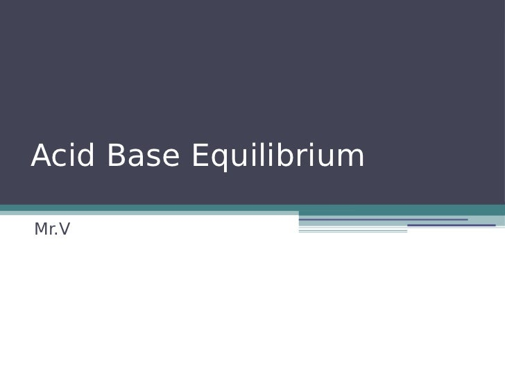 acid base equilibrium worksheet pdf
