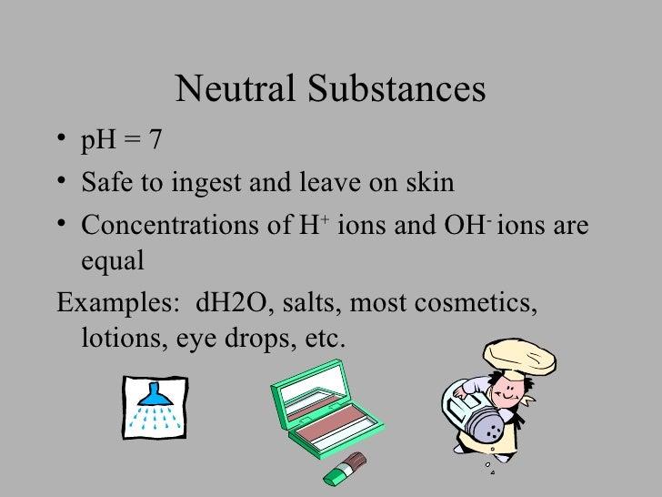 acids bases and neutral substances