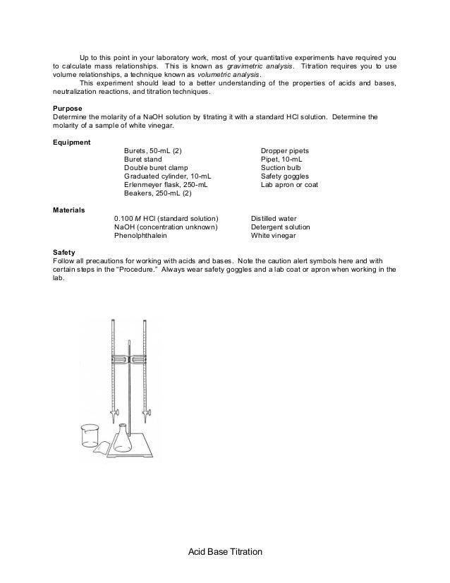 Acid base titration (1)
