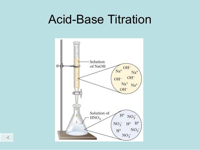 Acid-Base Titration & Calculations