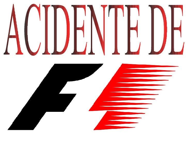 ACIDENTE DE