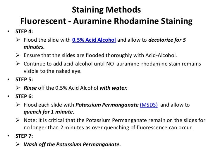 Stains of potassium permanganate: quickly and efficiently clean hands, clothes and various surfaces 35