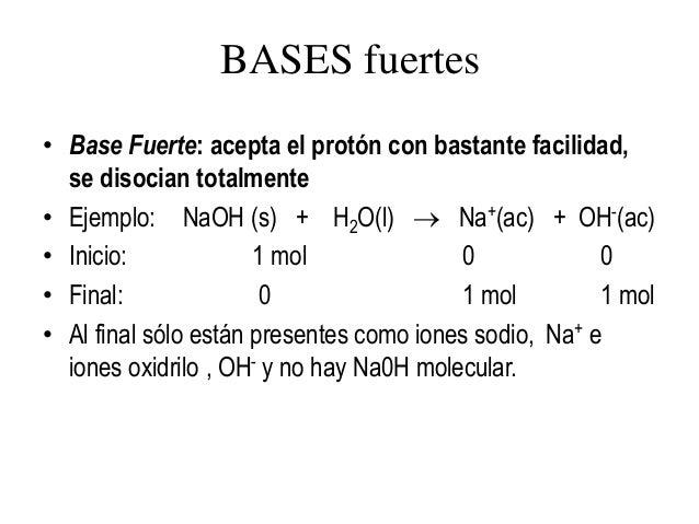 Acido oxido base bases fuertes urtaz Choice Image