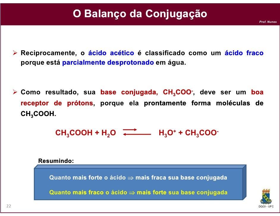 O Balanço da Conjugação                                                                        Prof. Nunes     Reciprocame...