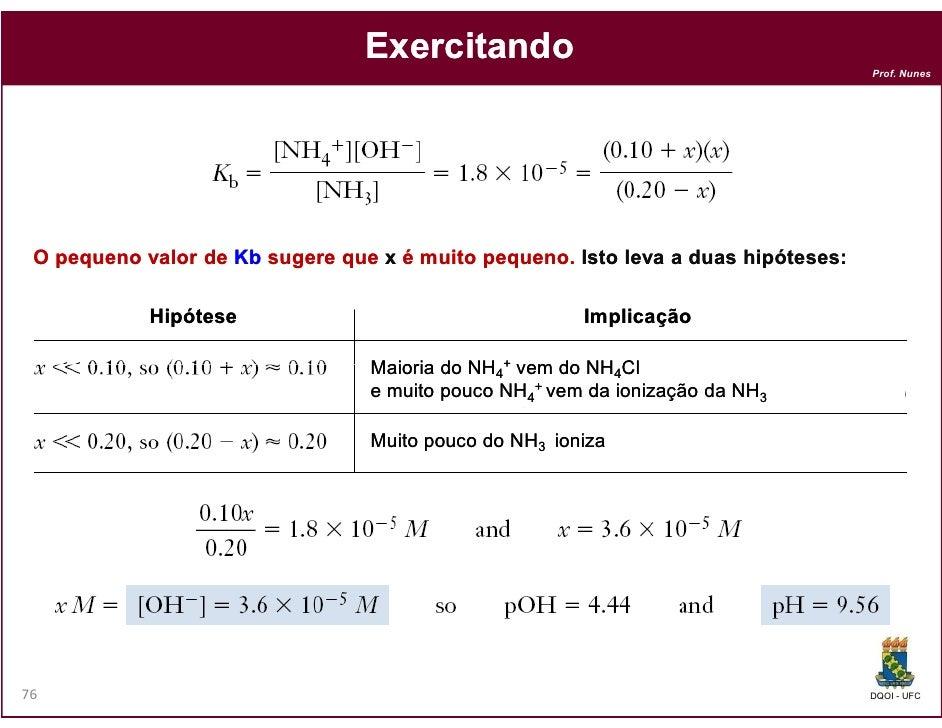 Exercitando                                                                                   Prof. Nunes O pequeno valor ...