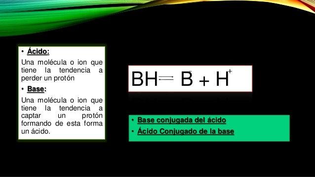 Ácidos y bases: pH Slide 3