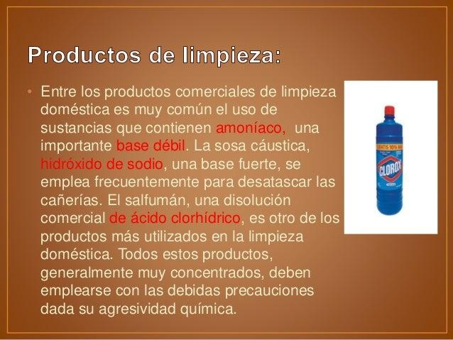 Acidos y bases presentacion