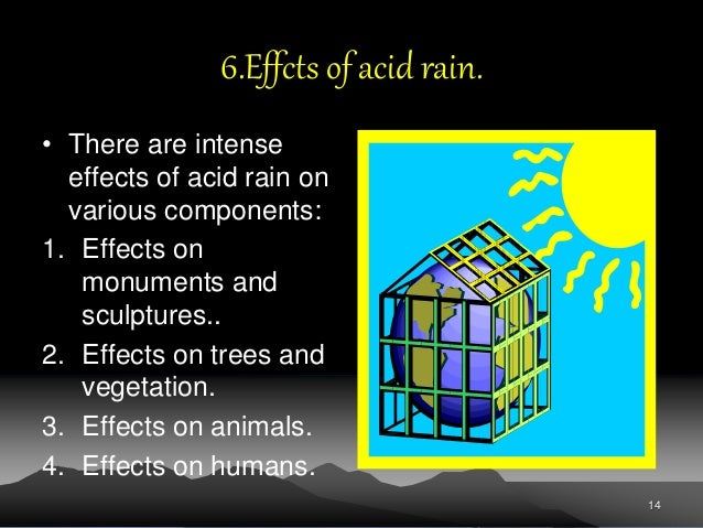 effect of acid rain on historical monuments
