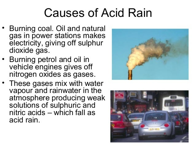 acid rain summary
