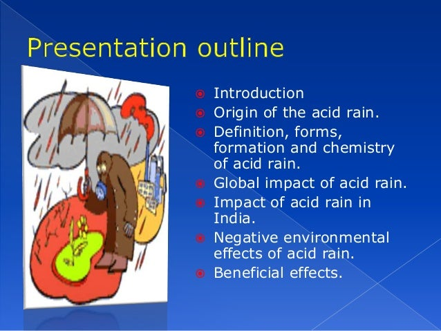 an introduction to the acid rain Title of experiment introduction in this experiment, we tested which building material would be the most resistant to acid rain for constructing a statue.