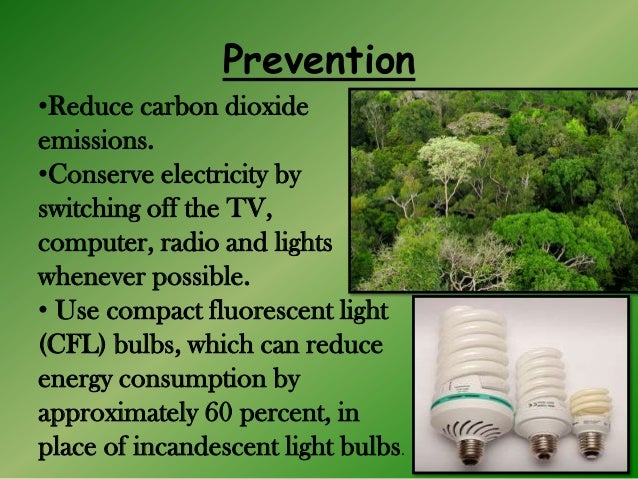 control and remedial measures of greenhouse effect