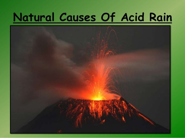 the cause of acid rain Acid rain is a form of rain that consists of droplets of that are abnormally acidic due to the pollution in the air - particularly the extreme.