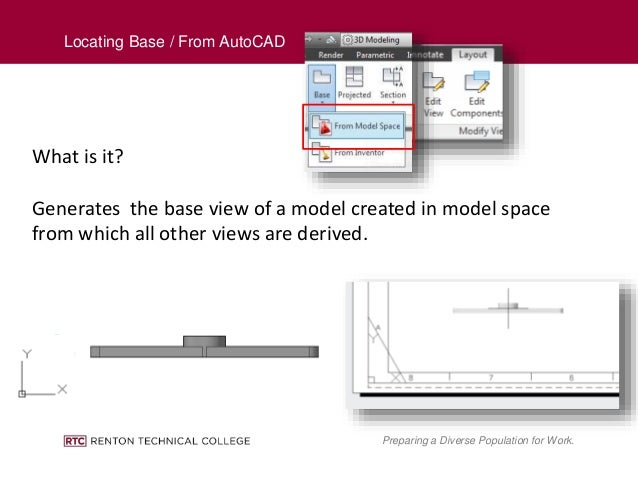 how to create layout in autocad